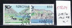 Farör Inseln  Nr. 219-0   o-Versandstellen Stempel  (e5204  ) siehe scan