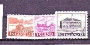 Island  Nr.  275-77   sauber   *   (a1604   ) siehe scan