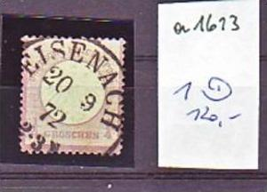 D.-Reich  Nr.  1    o-used   ( a1613   ) siehe scan