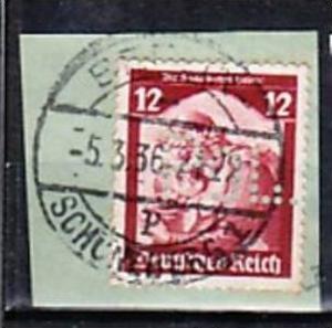 D.-reich POL -Lochung  567  o   ( a1812  ) siehe scan