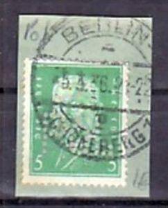 D.-reich POL -Lochung  411     o   ( a1818  ) siehe scan