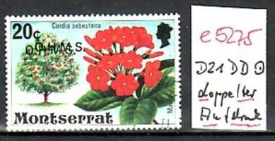Montserrat   Nr. D21 DD    **    ( e5275 )  siehe scan