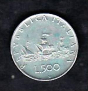 Italien 500 Lire 1961 Flotte Ag X869 Siehe Scan Nr 163952662