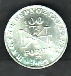 Ungarn 100 Forint 1972 Silber X865 Siehe Scan Nr 164055986