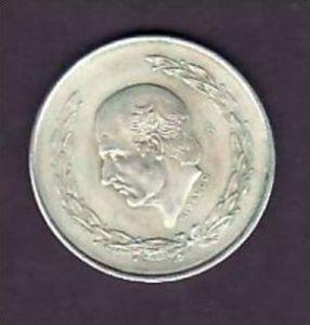 Mexico     5  Peso  1953        /Silber  (x904 ) siehe scan