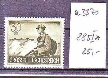 D.-Reich Nr.  885 I  *Plattenfehler    ( a3370 ) siehe scan