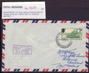 Papua Neu Guinea  Schiffspostbrief 1959     (ba3337 ) siehe scan