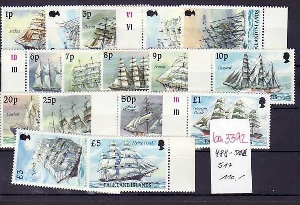 Falkland Schiffe   ** top    (ba3392 ) siehe scan
