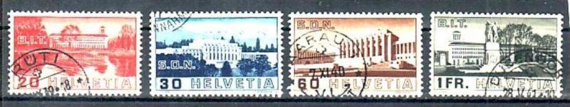 Schweiz Nr.  321-4   o-used   ( a2750  ) siehe Bild
