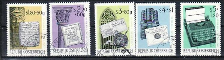 Österreich Nr. 1184-9    o-used   ( a2878  ) siehe Bild