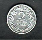 D.-Reich 2 Mark  1926 A tiefe Kratzer ( x1183 ) siehe scan