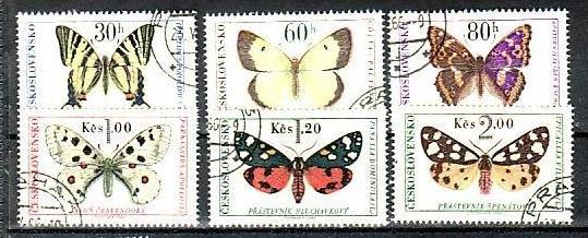 Ceskoslovensko  Nr. 1620-5   o   (a 3033 )  siehe scan