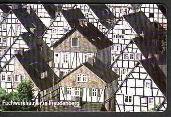 D  Telefonkarte  ..Fachwerkhäuser ( ba3467 ) siehe scan