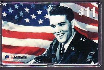 Telefonkarte  . .Elvis....    ( ba3473) siehe scan