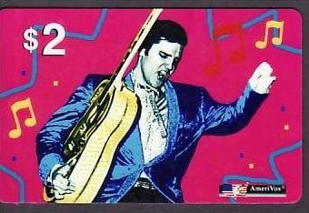 Telefonkarte  ..Elvis   ( ba3466 ) siehe scan
