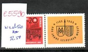 DDR   Nr.  wzd  120    **  (e5590 ) siehe scan