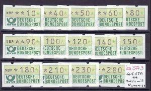BRD    Lot  Schaltersatz  ATM  **teils mit Rollennummer ( ba3773 ) siehe scan