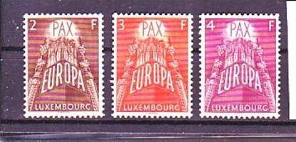 Luxemburg Nr. 572-4  **   (p2784 ) siehen scan !!