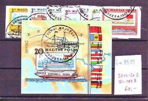 Ungarn Block  153 B+3514-20 B  Sonderstempel  (ba3959 ) siehe scan