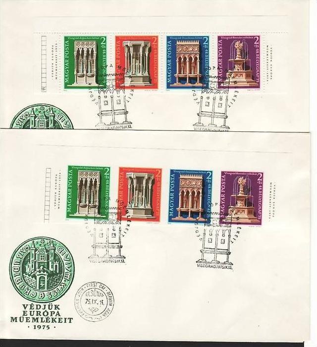 Ungarn Nr. 3060-63 A+B   FDC  (zz 499 ) siehe scan