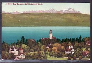 Lindau- Bad Schachen   alte  Karte   (ba3994) siehe scan