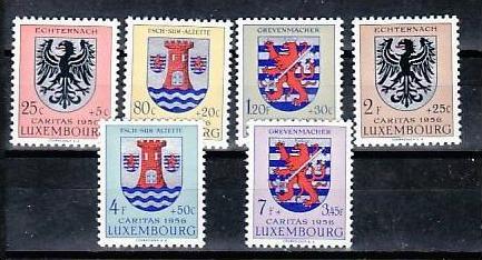 Luxemburg Nr. 561-6   **  ( e6063  )siehe scan