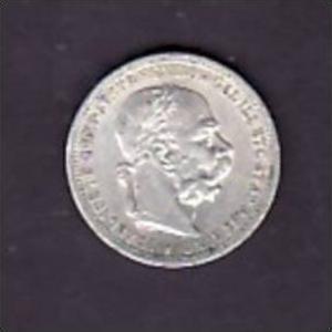 Österreich  1 Krone 1898  Silber   (x1343 ) siehe scan