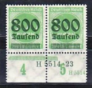 D.-Reich  Paar  304  HAN      **  ( a4530 ) siehe scan