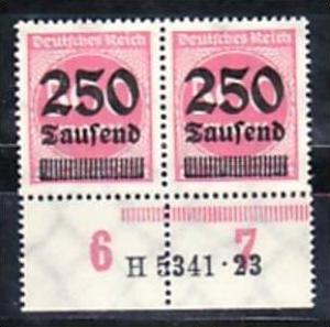 D.-Reich  Paar  295  HAN      **  ( a4529 ) siehe scan