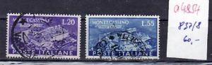 Italien  Nr. 837-8  o  ( a4854 )  siehe scan