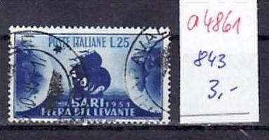 Italien  Nr. 863    o  ( a4861 )  siehe scan