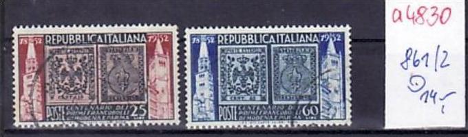 Italien  Nr. 861-2   o  ( a4830  )  siehe scan