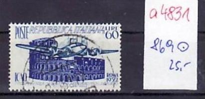 Italien  Nr. 869  o  ( a4831  )  siehe scan