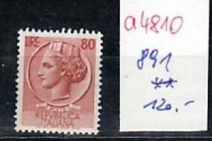 Italien  Nr.  891   **   ( a4810  ) siehe scan