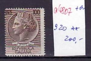 Italien  Nr.  920    **   ( a4807 ) siehe scan