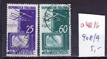 Italien  Nr.  908-9   o     ( a4816  ) siehe scan