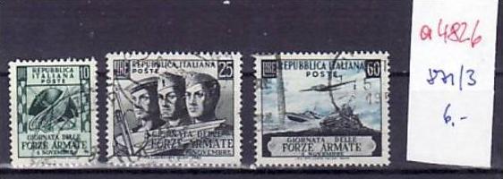 Italien  Nr.  871-3   o     ( a4826  ) siehe scan