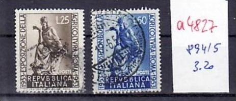 Italien  Nr.  894-5   o     ( a4827  ) siehe scan