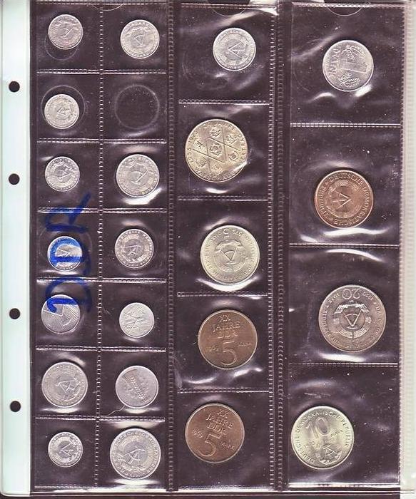 X1401 Ddr Münzen Lot 22 Xdiverse Siehe Scan Nr 176388744