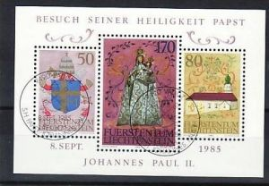 Liechtenstein Block  12 o   (ba4143 ) siehe scan
