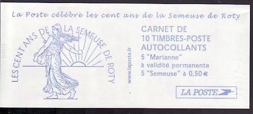Frankreich Heft   Marianen  2001     **   ( ba 4318   ) siehe scan