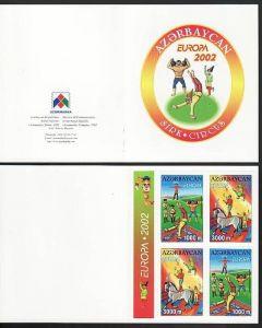 Cept- Asserbeidschan Heft  2002     **   ( ba 4322   ) siehe scan