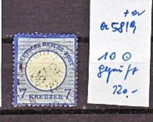 D.-Reich Nr.  10   o  ( a5819 ) siehe scan