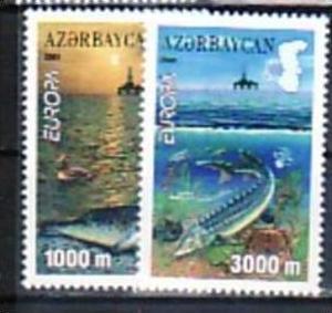 Cept -Asserbeidschan    2001 ** (e6277  ) siehe scan