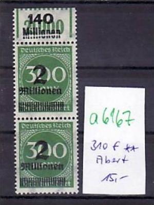 D.-Reich Nr.  2x 310  f  **   ( a6167 )siehe scan