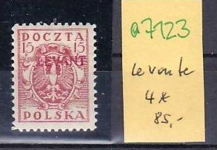 Polen Levante Nr. 4  * (a7123 ) siehe scan 0