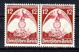 D.-Reich Nr. 2x 587 I   **   (a7266  ) siehe scan