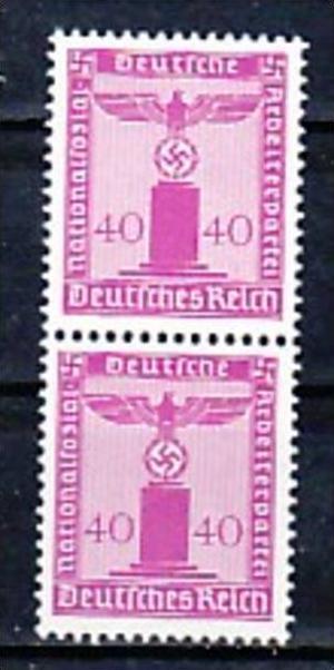 D.-Reich Nr. 2x  D165   **  ( a7604 ) siehe scan