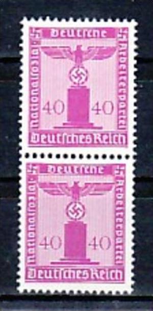 D.-Reich Nr. 2x  D165   **  ( a7605 ) siehe scan