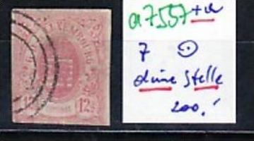 Luxemburg  Nr. 7   o  (a7557 ) siehe scan